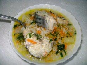 Суп из скумбрии в мультиварке