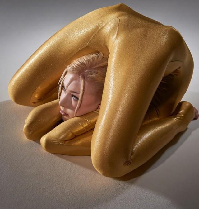 Фото самая гибкая девушка в мире