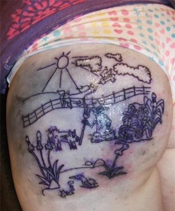 Жертвы татуировок