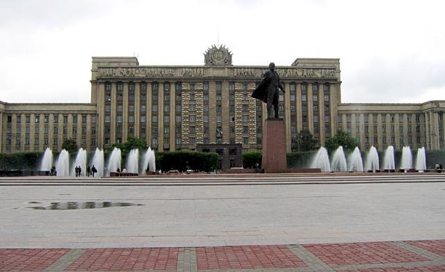 5 найбільших міських площ у світі: Московська площа, Санкт-Петербург, Росія