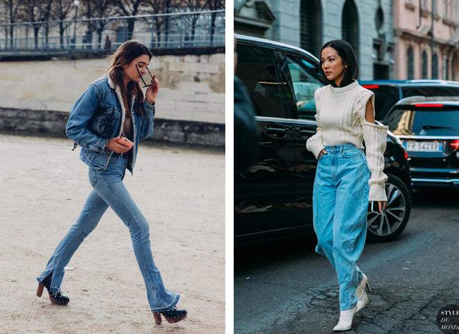 С чем носить джинсы весной 2021