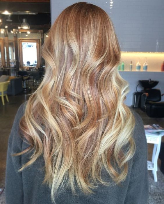 Фарбування волосся зима блонд