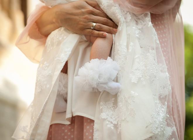 Лилия Ребрик крестила дочь (фото)