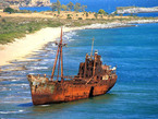 Лакония на юге греческого полуострова Пелопоннес