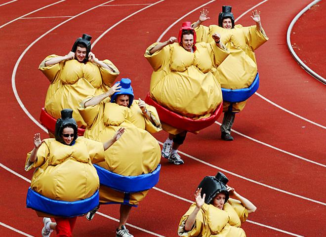 Найоригінальніші спортивні фестивалі: атлети-сумісти