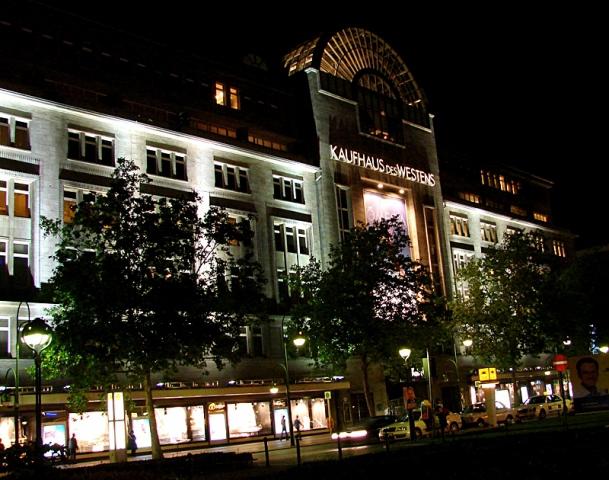 Неделя скидок в Берлине: универмаг KaDeWe