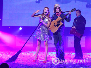 Новогодний концерт, дворец Украина, часть 2
