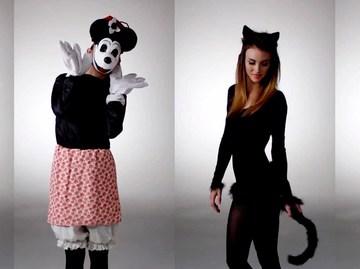 Еволюція костюму на Хелловін за 3 хвилини