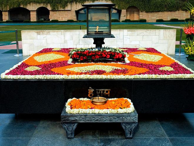 Достопримечательности Дели: мемориал Ганди