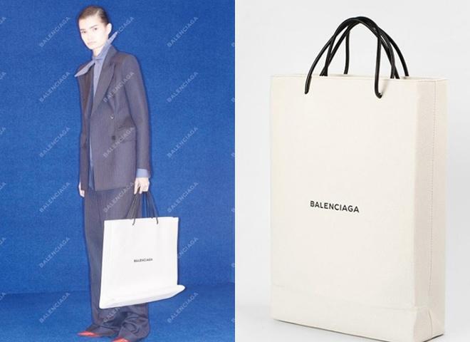 "Balenciaga випустили ""картонну"" сумку"