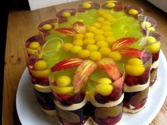 Торты с фруктами рецепты