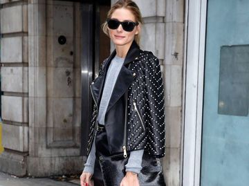 C чим носити шкіряну куртку: 5 луків Олівія Палермо