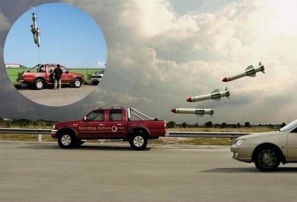 Оригинальные воздушные шары помогут вам избежать автомобильной пробки.