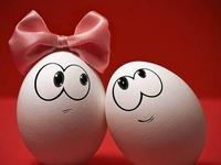 Влюбленные яйца HD