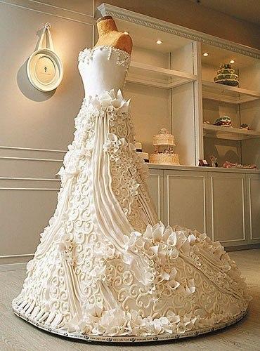Невероятный свадебный торт!
