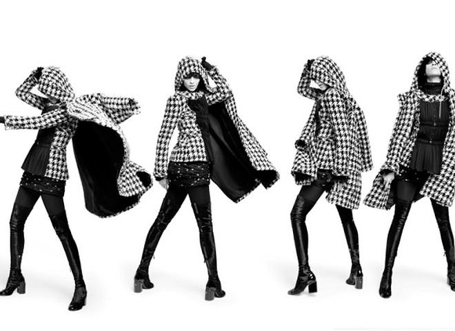 Маріякарла Босконо в динамічному кампейні Chanel pre-fall 2016