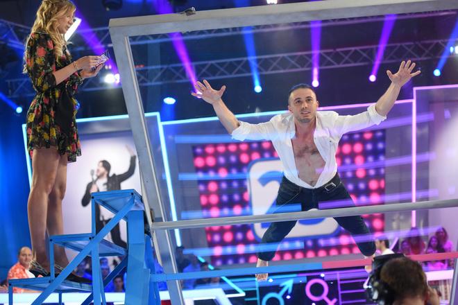 """Тарас Тополя в шоу """"Хто зверху?"""""""
