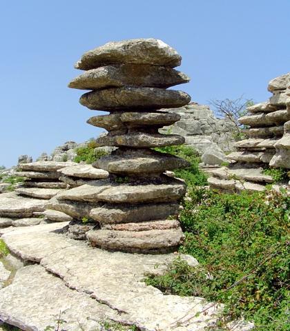 Необычные скалы: Эль Торкаль де Антекера, Испания