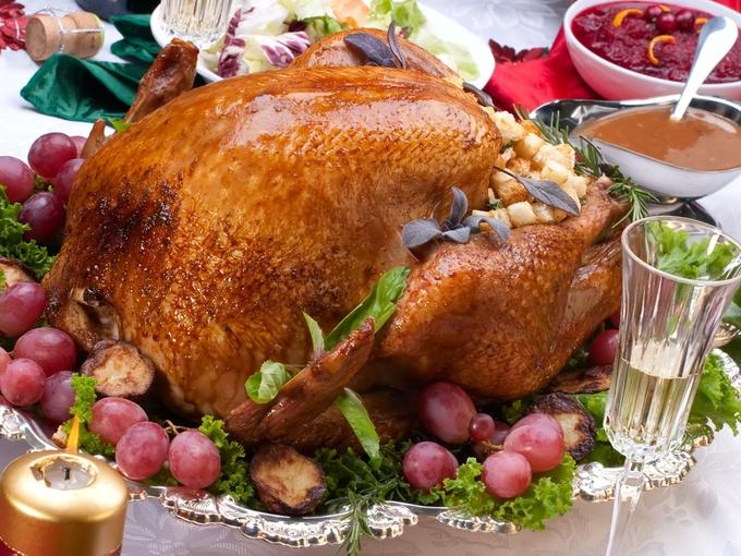 Курица в духовке, птица
