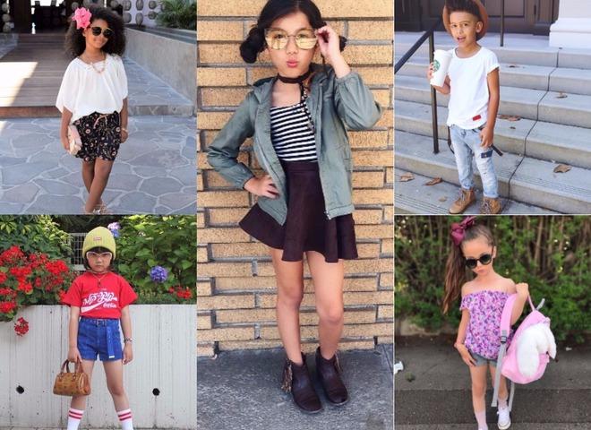 Дети фэшн-блогеры