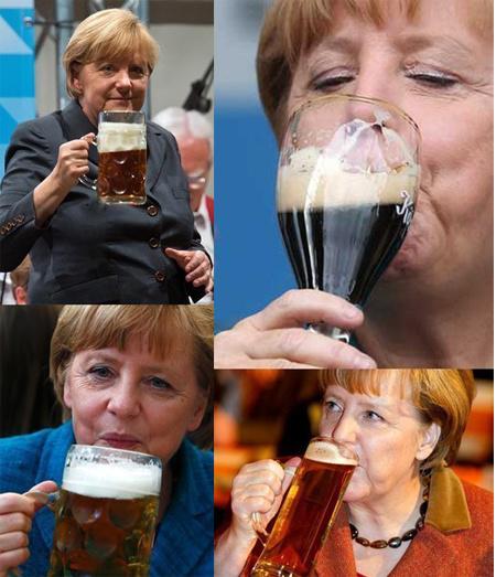 Тяжелый труд Меркель