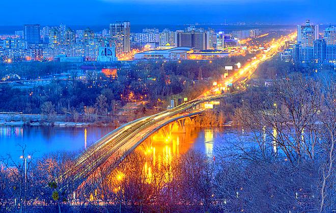 Мосты Украины: Киев, Мост Метро