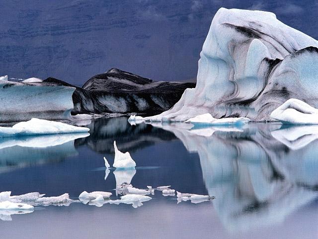 Цікаві місця Ісландії: Jokulsarlon Glacier Lagoon