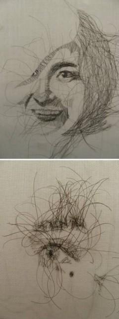 Самые невероятные поделки из волос