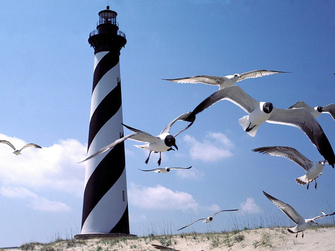 У маяков тоже бывают выходные :)
