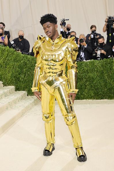 Lil Nas X на Met Gala 2021
