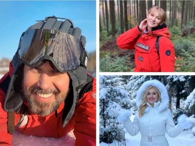 Как украинские звезды празднуют Крещение 2021