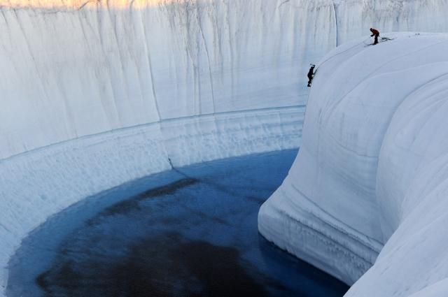 Ледяной каньон Гренландия