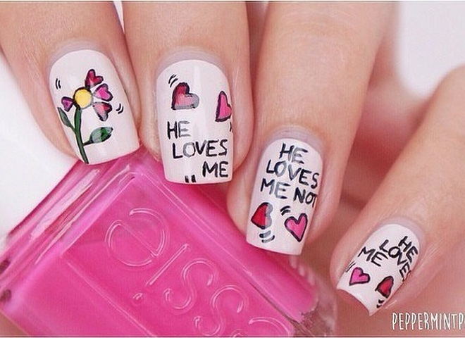 Маникюр на День Валентина: 12 идей, которые тебе точно понравятся (фото)