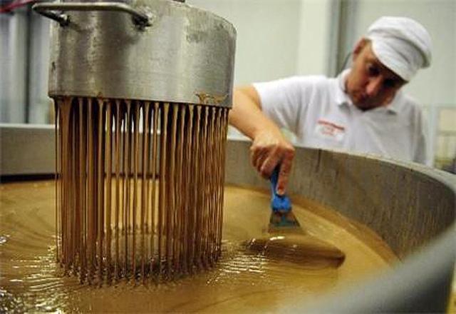 Фото шоколадная фабрика (Chocolade Jacques, Бельгия)