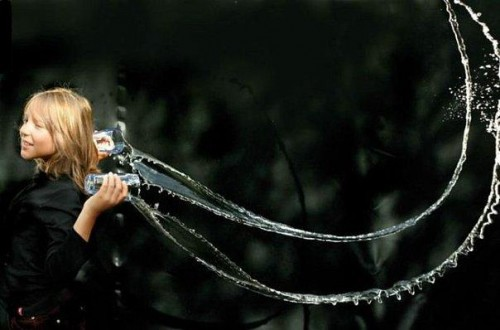 Как можно играть с водой