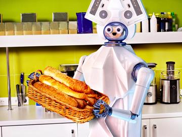 кафе з роботами