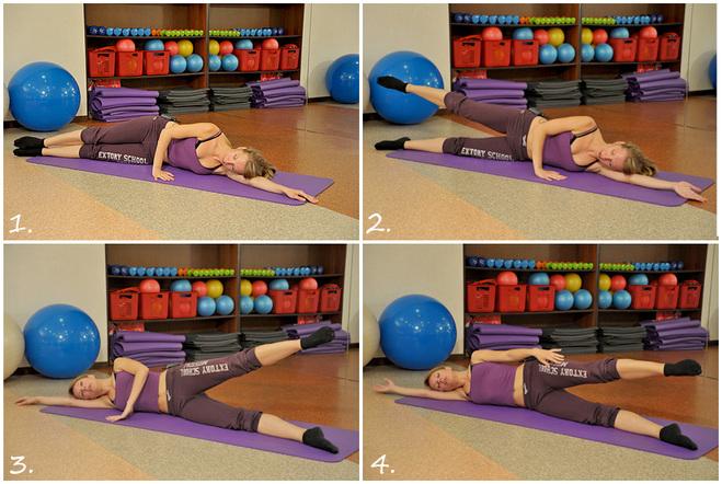 Мастер-класс по фитнесу: разгрузи спину