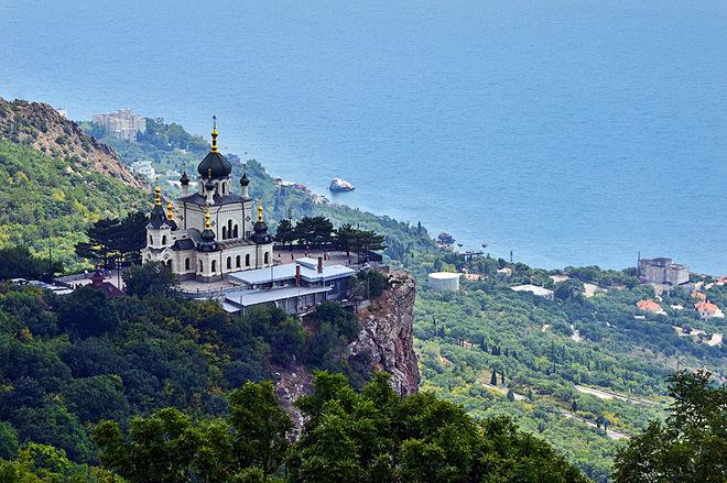 Визначні пам'ятки Криму: Фороська церква