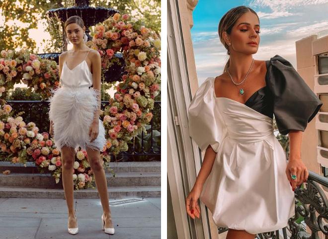 Модні міні-сукні на випускний