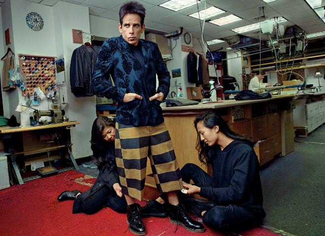 Дерек Зуландер на обложке Vogue