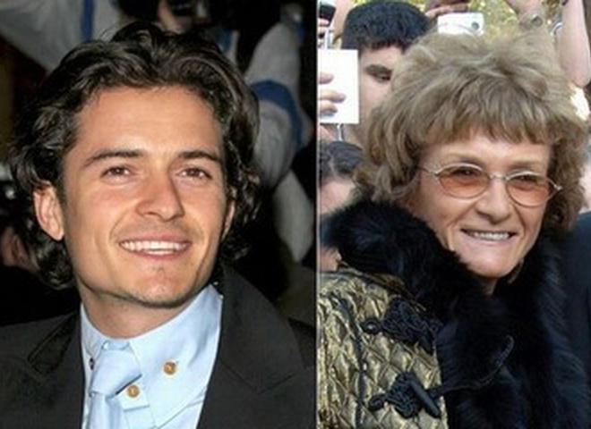 Элтон Джон с мамой