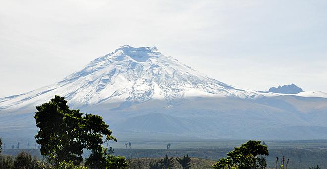 Путешествия к вулканам: Вулкан Котопакси