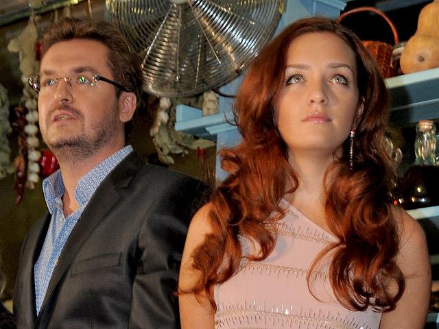 Олександр Пономарьов з дружиною Вікторією