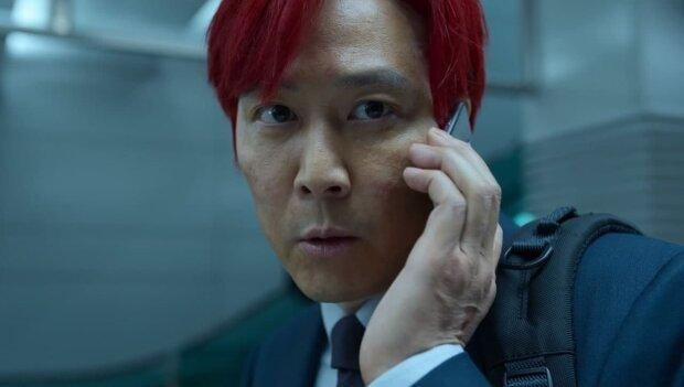 "Сон Ки Хун (Ли Чон Чжэ) в сериале ""Игра в кальмара"""