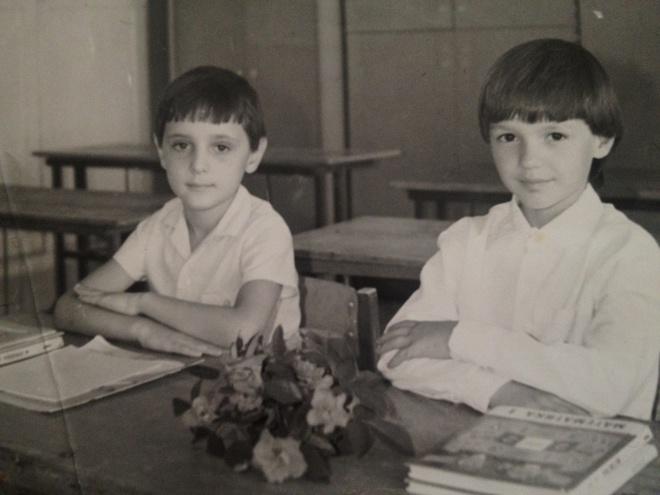 школьные фото звезд