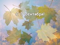 Осенние открытки с 1 сентября