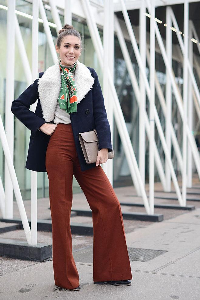 Як стильно одягнутися в прохолодну погоду