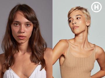 Віка Рогальчук: до і після