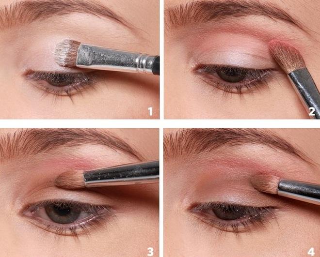 Простий і елегантний макіяж очей на 14 лютого