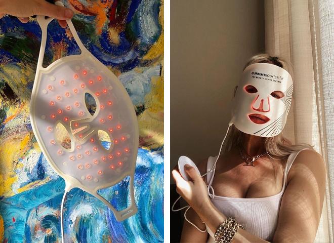 Світлодіодні LED-маски для обличчя